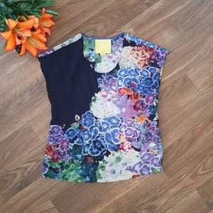 Anthropologie Multi-Colorful Maeve Top